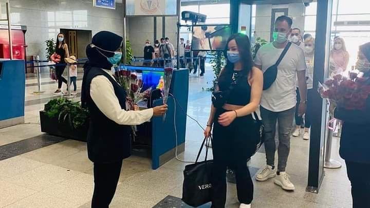 وفود سياحية قادمة من المانيا لمطار الغردقة الدولى (3)