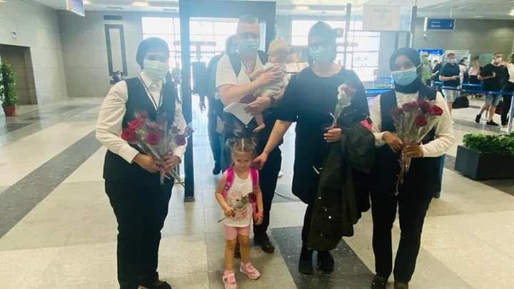 وفود سياحية قادمة من المانيا لمطار الغردقة الدولى (1)