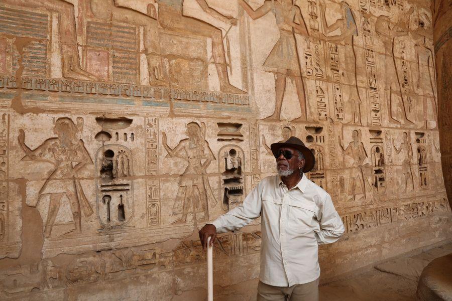 مورجان فريمان في مصر