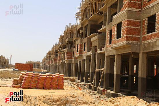 إنشاء 25 ألف وحدة سكنية بالسويس (4)