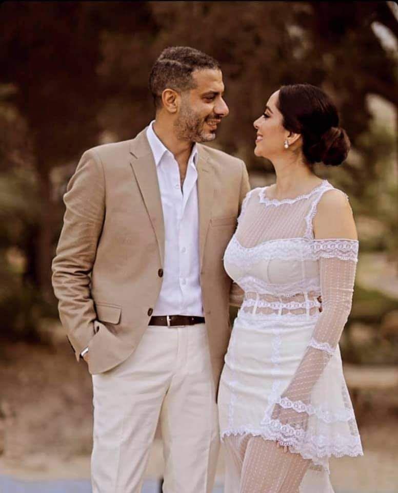 محمدفراج وبسنت شوقى