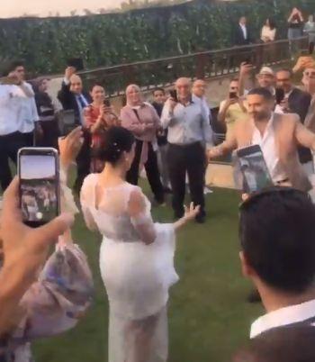 حفل زفاف فراج وبسنت شوقي
