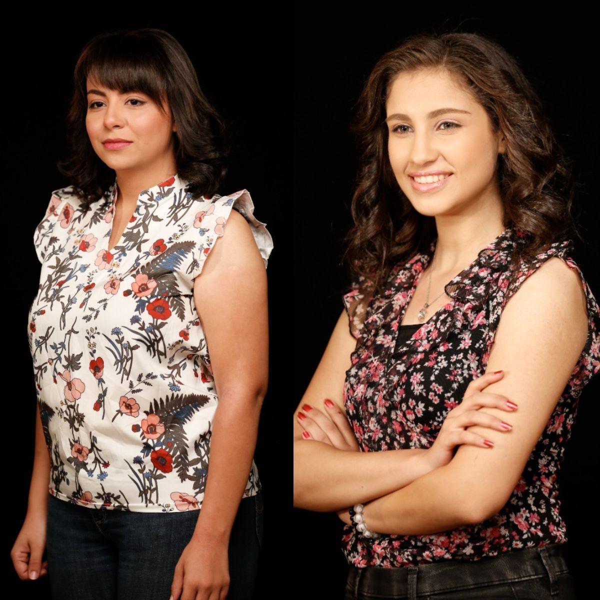 انجيليكا وليلي فوزي