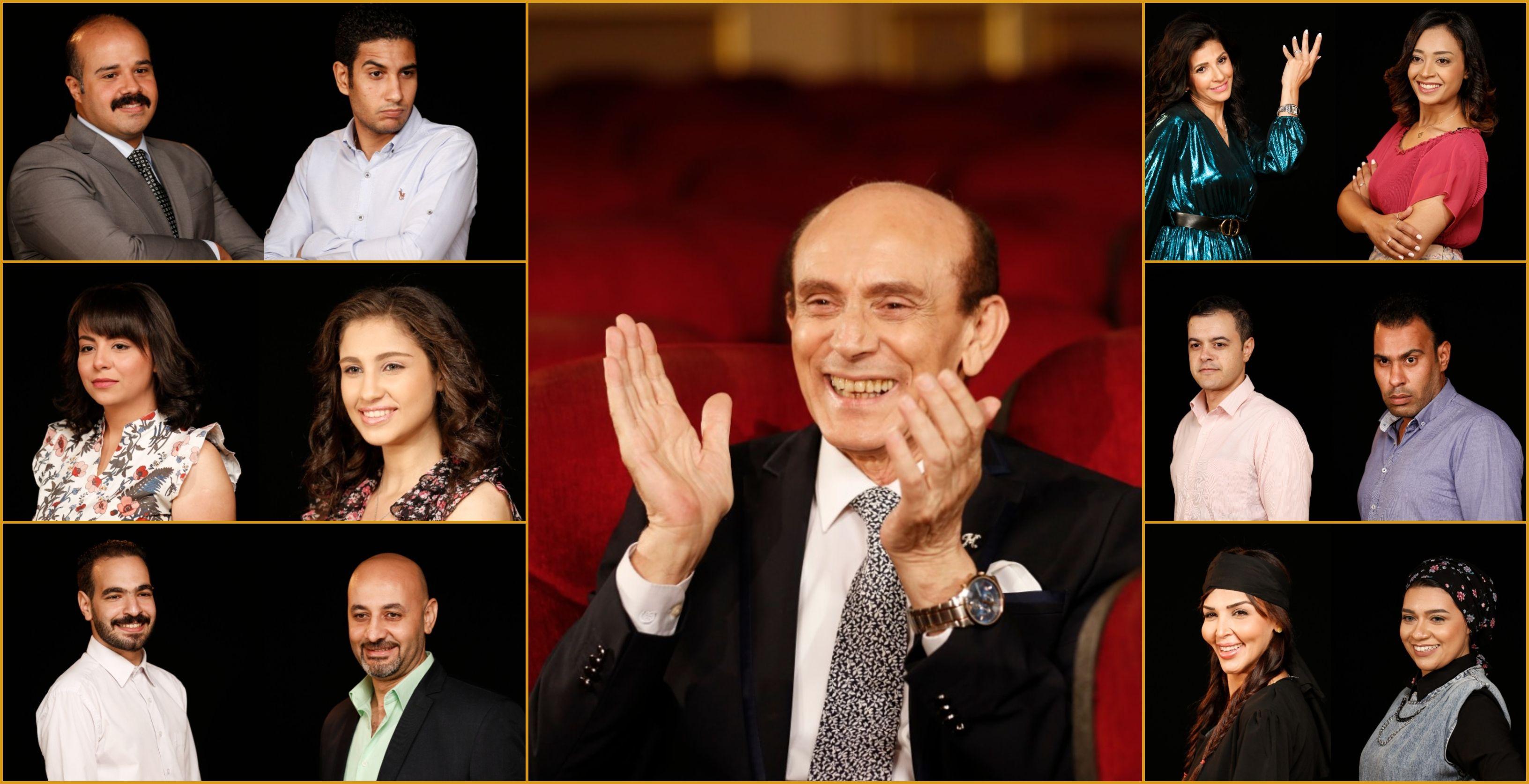 محمد صبحي يقدم 12 نجما في مسرحيته الجديدة