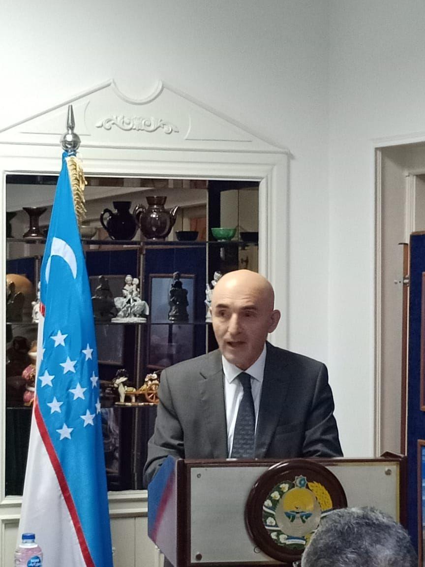 مستشار السفارة الاوزبكية بالقاهرة