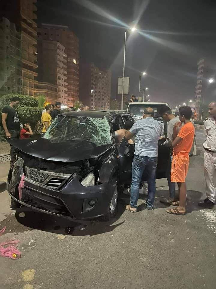احد سيارات الحادث