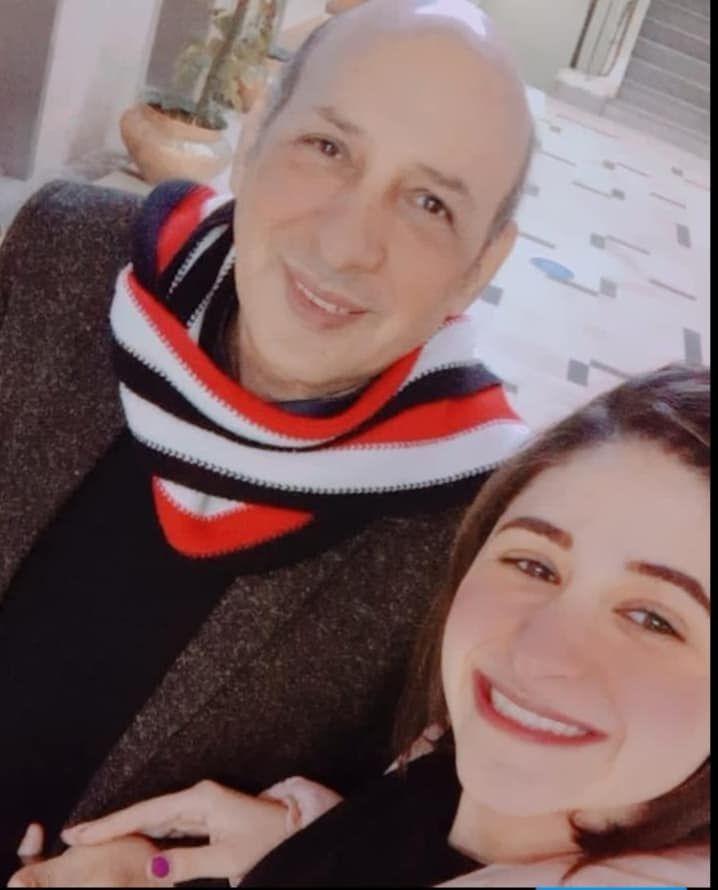 ياسر ماهر وأبنته