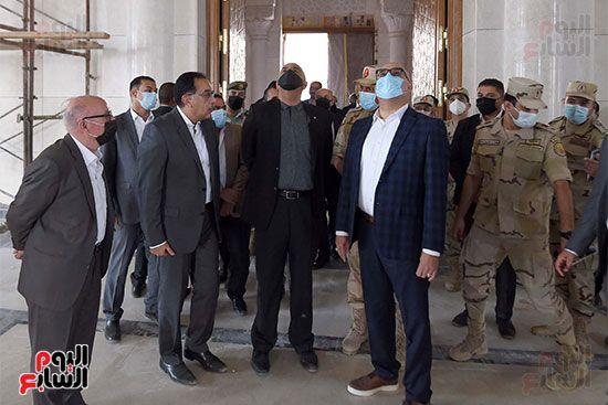 الدكتور مصطفى مدبولى رئيس الوزراء ونظيره الدكتور بشر الخصاونة (15)