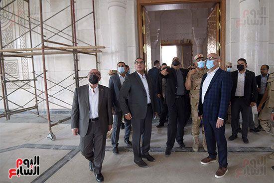 الدكتور مصطفى مدبولى رئيس الوزراء ونظيره الدكتور بشر الخصاونة (13)