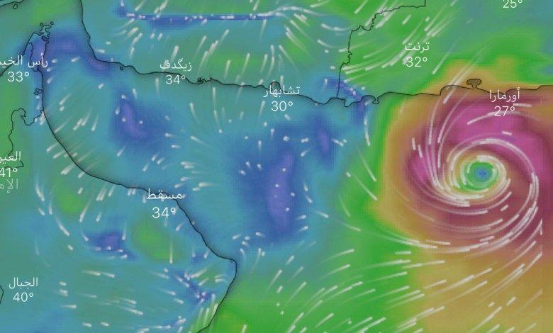 المسند: إعصار شاهين يبعد عن حدود المملكة 700 كم - المواطن