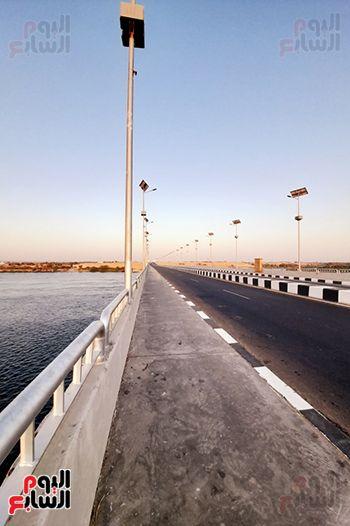 محور كلابشة فوق النيل بأسوان