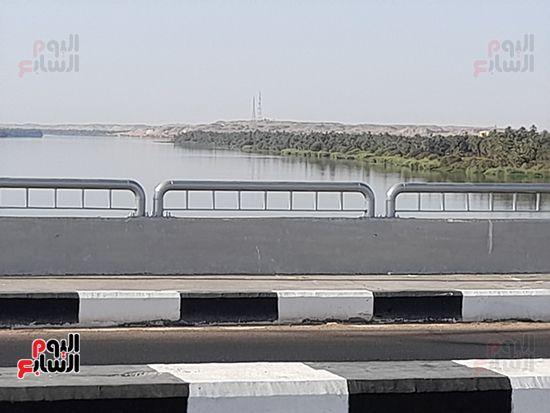 محور كلابشة فوق النيل بأسوان (6)