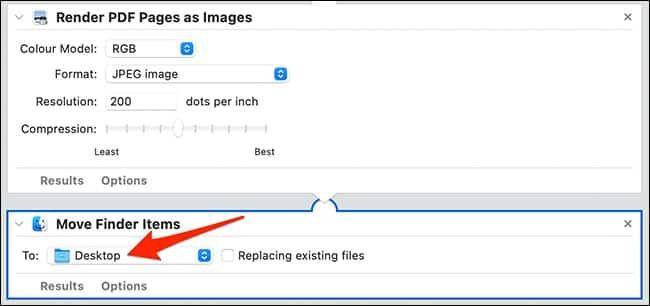 تحويل ملفات PDF إلى صور عبر ماك