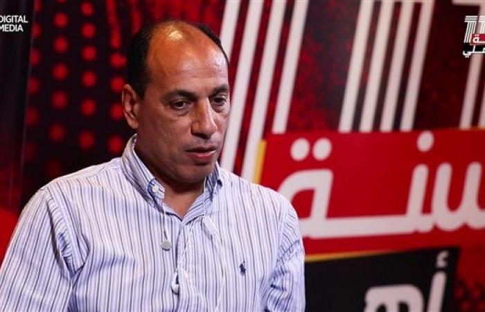 علاء عبد الصادق يعبر عن سعادته بوضع حجر الأساس لبناء استاد النادي الأهلي