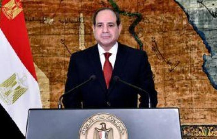 الرئيس السيسى يوجه كلمة بمناسبة الاحتفال بعيد العمال