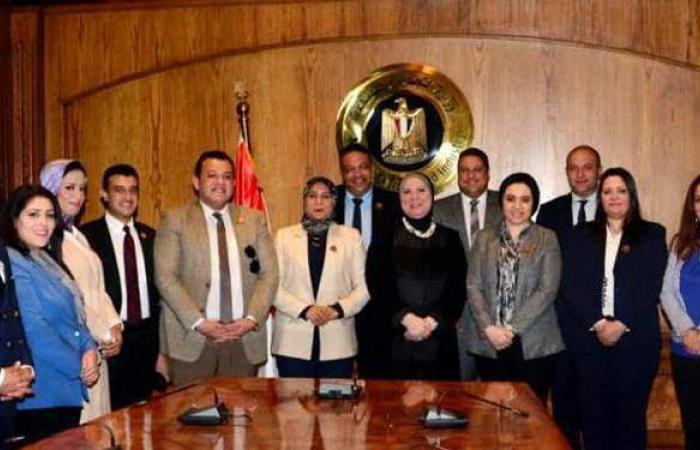 وزيرة التجارة: حريصون على التواصل مع القوى السياسية لتحقيق مستهدفات خطة الحكومة