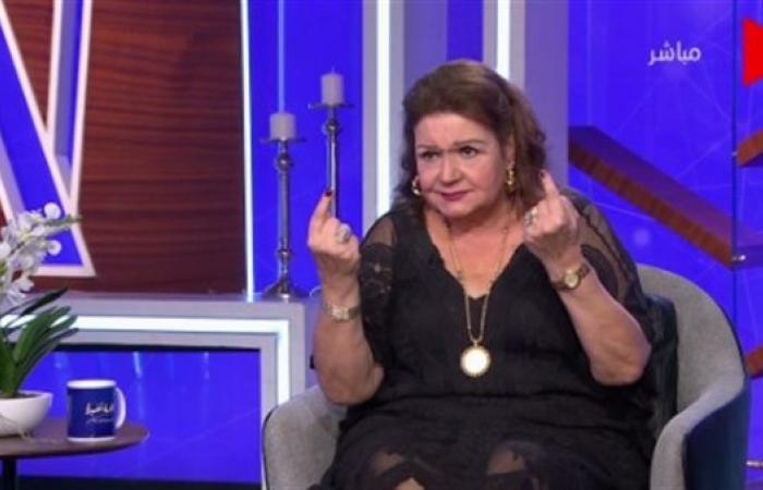 ميمي جمال: سمير غانم كان زي الترمومتر على المسرح