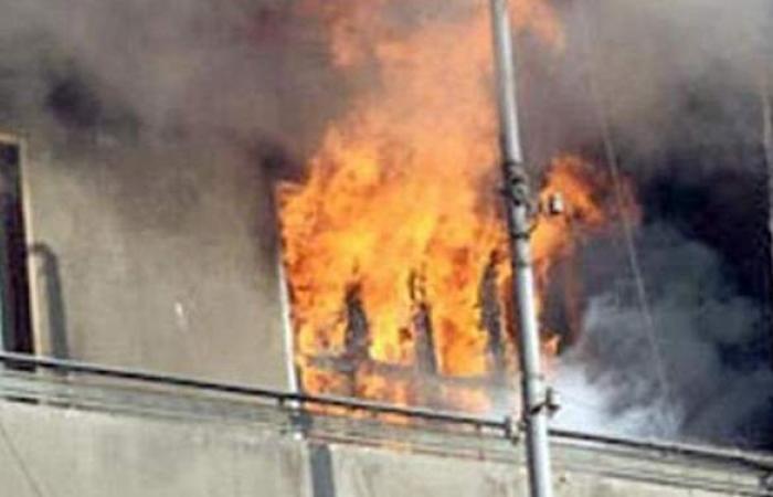 إخماد حريق نشب داخل شقة سكنية فى المنيل