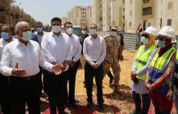 إنشاء 25 ألف وحدة سكنية بالسويس بمبادرة سكن لكل المصريين.. صور