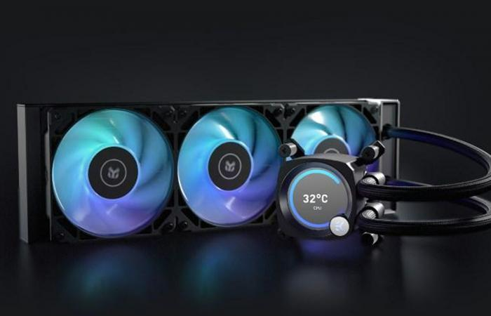 Computex21:شركة EK تعمل على المشتت المائي المتكامل Nucleus AIO Vision