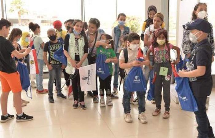 مصر للطيران تنظم جولة ترفيهية لأطفال مستشفى ٥٧٣٥٧ بمدينة كيدزانيا