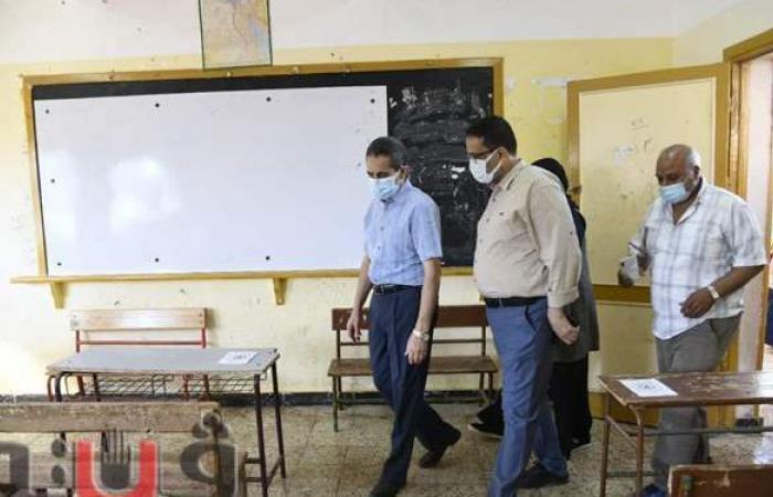 محافظ الغربية يتابع جاهزية المدارس لاستقبال امتحانات الشهادة الإعدادية | صور