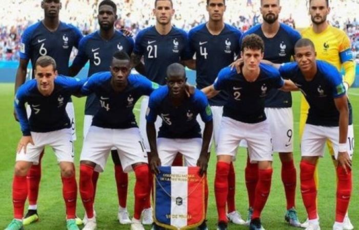 تعرف على تشكيل منتخب فرنسا في يورو 2020
