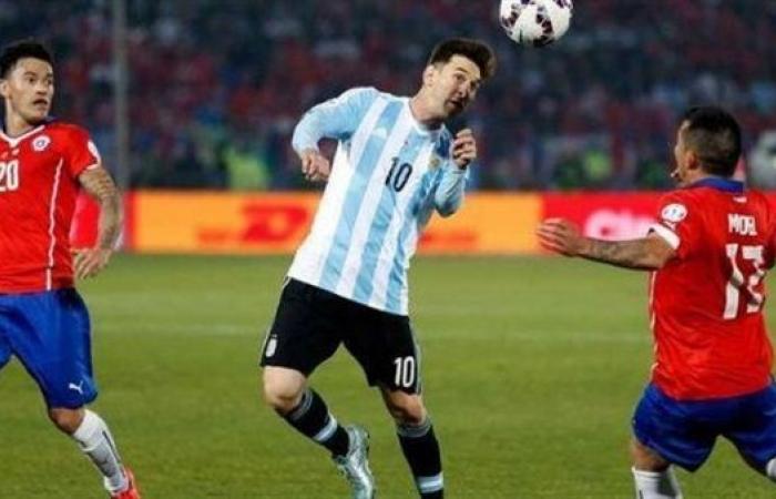 موعد مباراة الأرجنتين وتشيلي في التصفيات المؤهلة إلى كأس العالم 2022