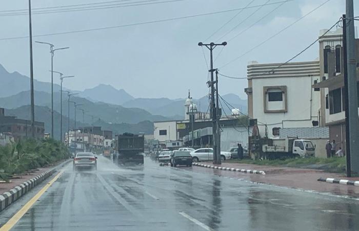 14 محافظة تتأثر بأمطار رعدية في 3 مناطق.. و«الأرصاد»: مستمرة حتى السادسة