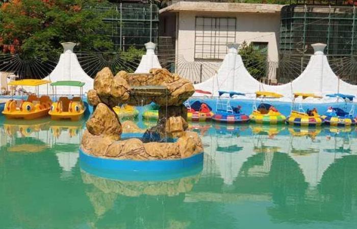 حديقة حيوان الجيزة تبدأ تشغيل البدالات المائية كأحدث أنشطتها الترفيهية