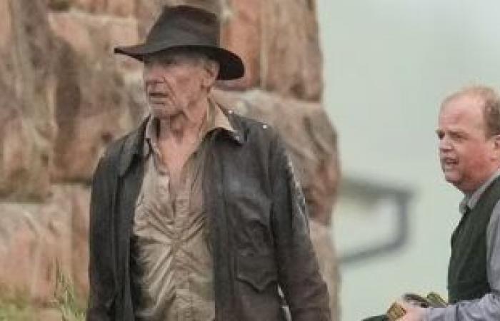 الصور الأولى من عودة هاريسون فورد لتصوير الجزء الخامس من Indiana Jones