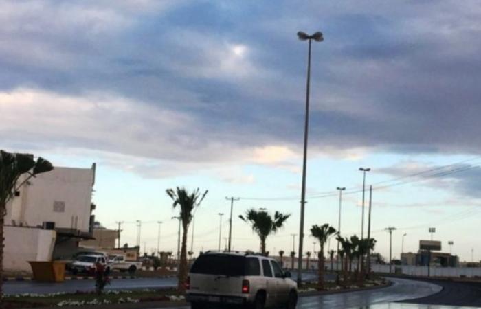 تنبيه من أمطار رعدية على منطقة الباحة