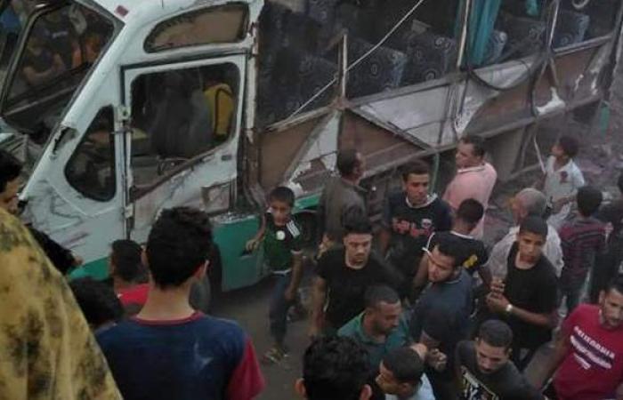 النائب العام يأمر بالتحقيق العاجل في حادث تصادم قطار حلوان