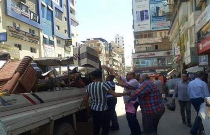 رفع 47 حالة إشغال طريق ومخالفة بشوارع الشرقية