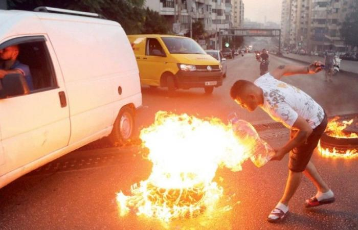 17 قتيلا وجريحا في احتجاجات لبنان