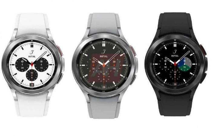 صور تستعرض تصميم ساعة سامسونج Galaxy Watch4 Classic
