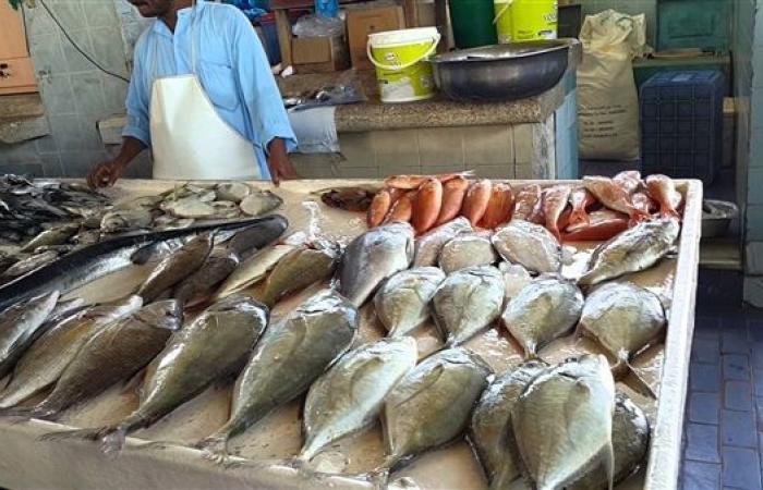 أسعار الأسماك اليوم الجمعة 2-7-2021 في سوق العبور