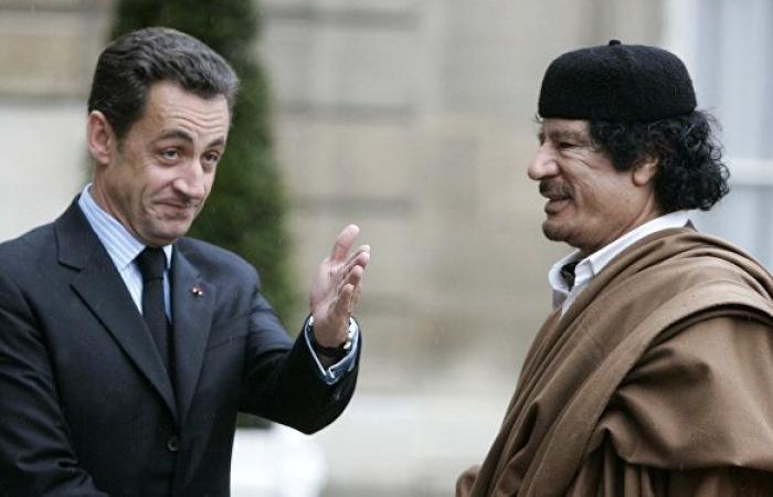 معمر القذافي يتسبب في نشوب أزمة كبيرة لشركة فرنسية