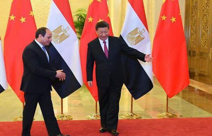 """بالتفاصيل.. تطور الشراكة """"المصرية – الصينية"""" في عهد السيسي وبينج"""