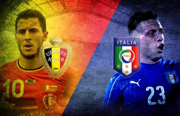 قبل موقعة ربع نهائي يورو 2020.. تعرف علي تاريخ مواجهات إيطاليا ضد بلجيكا