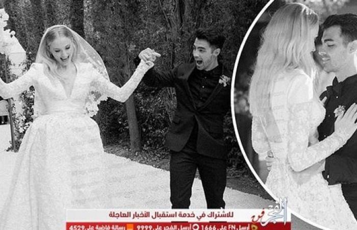 صوفي ترنر تحتفل بالذكرى السنوية الثانية لزواجها