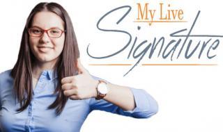 أداة مجانية لتصميم توقيع شخصي خطي جاهز باسمك او لبريدك الإلكتروني