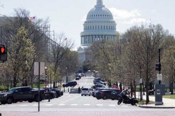 """اعتقال 4 أشخاص بمحيط """"الكابيتول"""" الأمريكي خلال مسيرة"""