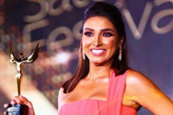 حنان مطاوع ودرة وروجينا يحصدن جوائز الأفضل من مهرجان الفضائيات العربية
