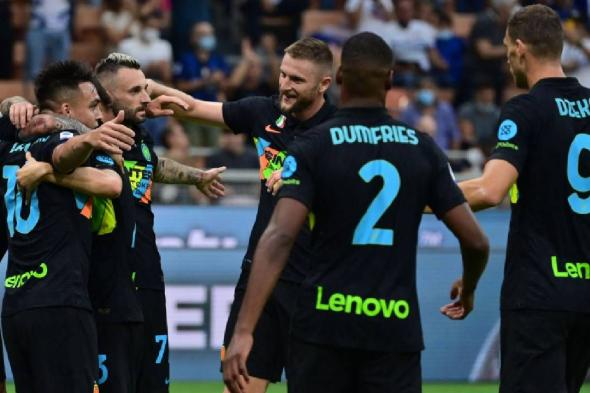 إنتر ميلان يكتسح بولونيا بالستة وينفرد بصدارة الدوري الإيطالي