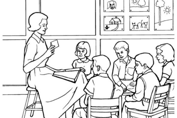 معلمة وإخصائية.. وممرضة!